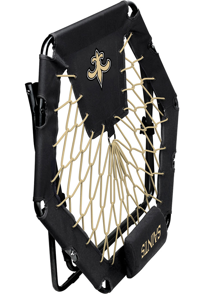 New Orleans Saints Premium Black Bungee Chair - Image 3
