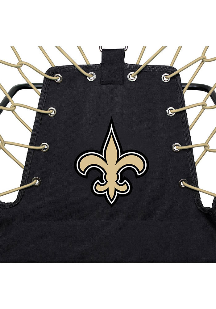 New Orleans Saints Premium Black Bungee Chair - Image 5