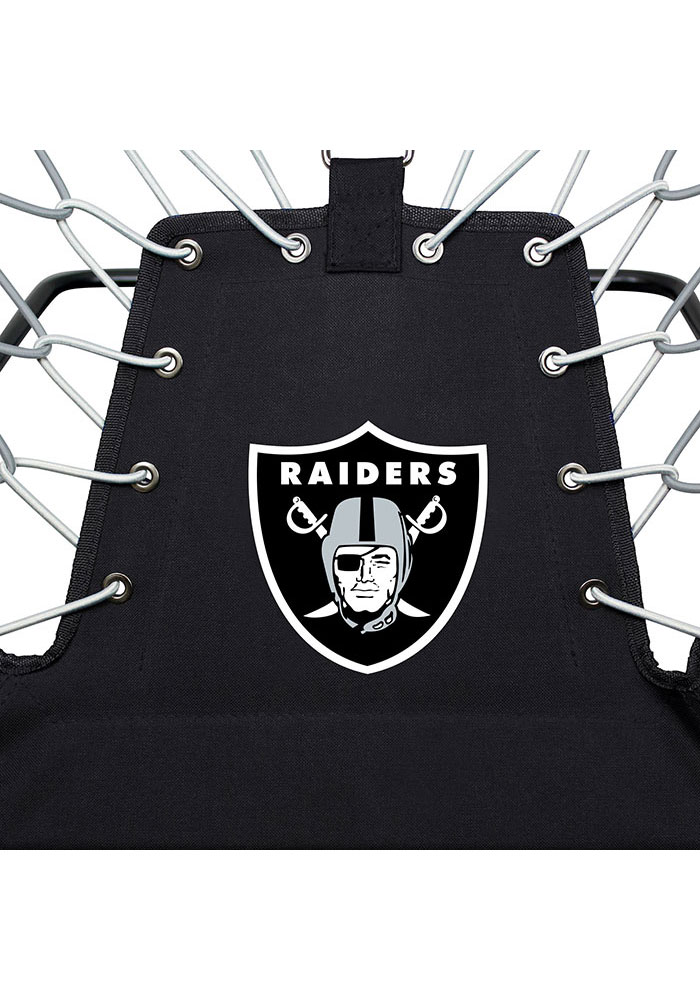 Oakland Raiders Premium Black Bungee Chair - Image 5