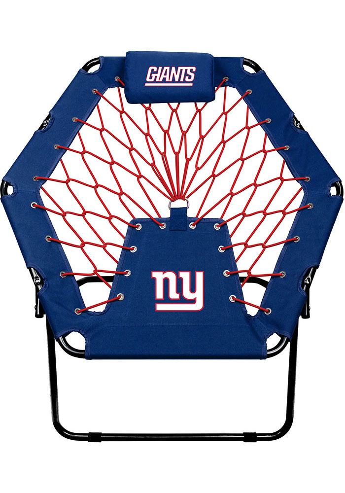 New York Giants Premium Blue Bungee Chair - Image 1