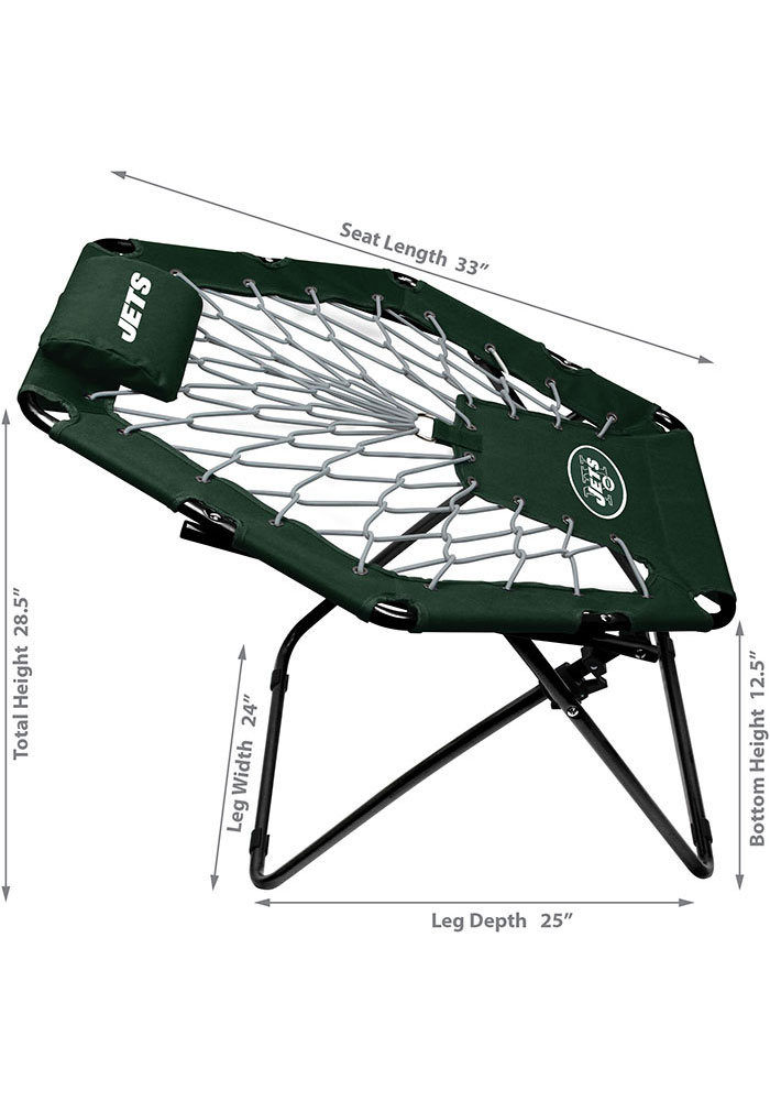 New York Jets Premium Green Bungee Chair - Image 2