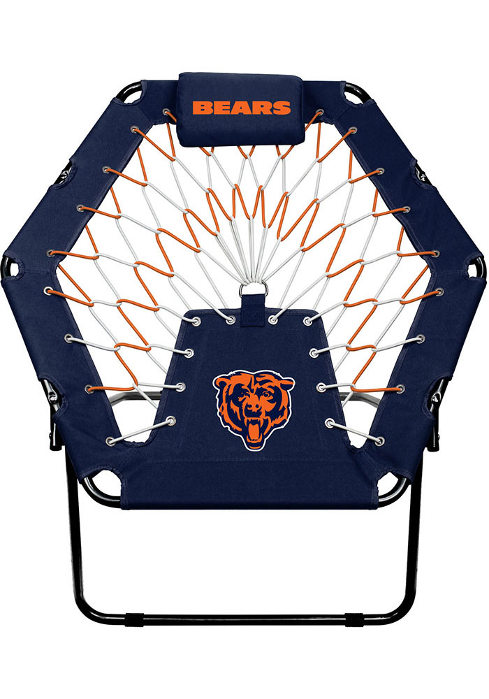 Chicago Bears Premium Navy Blue Bungee Chair - Image 1