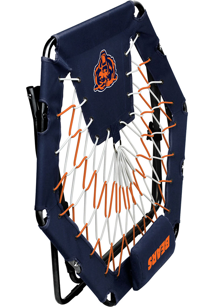 Chicago Bears Premium Navy Blue Bungee Chair - Image 3