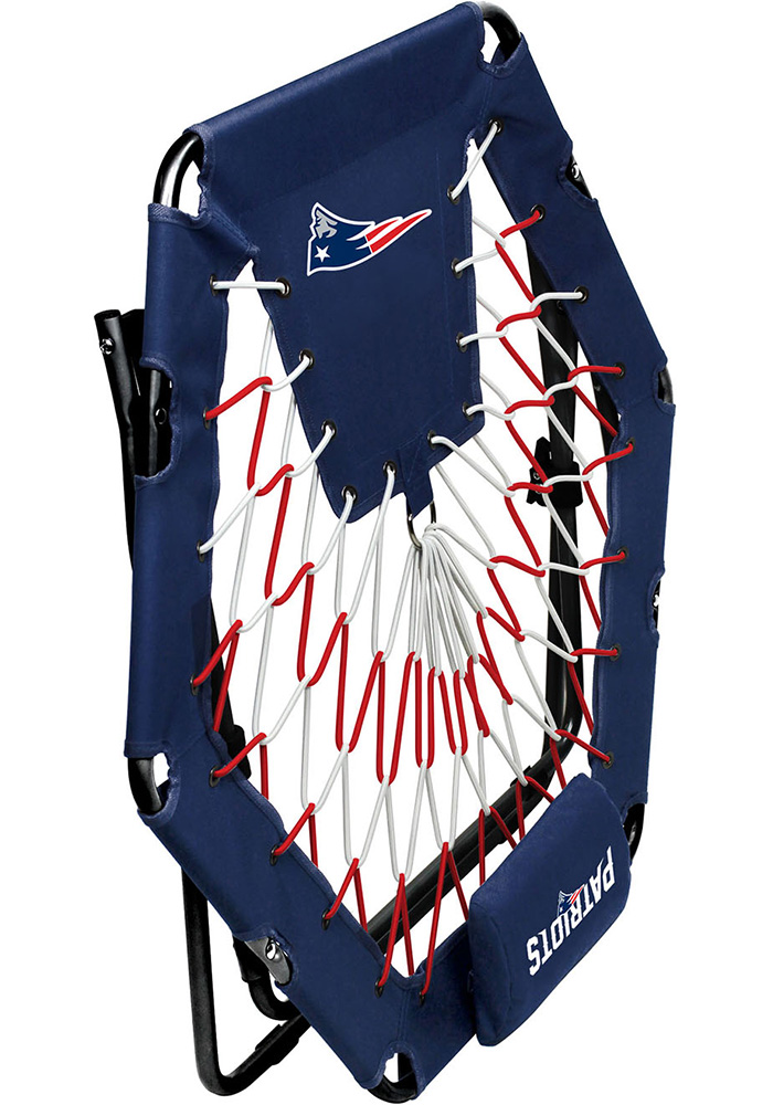 New England Patriots Premium Navy Blue Bungee Chair - Image 3