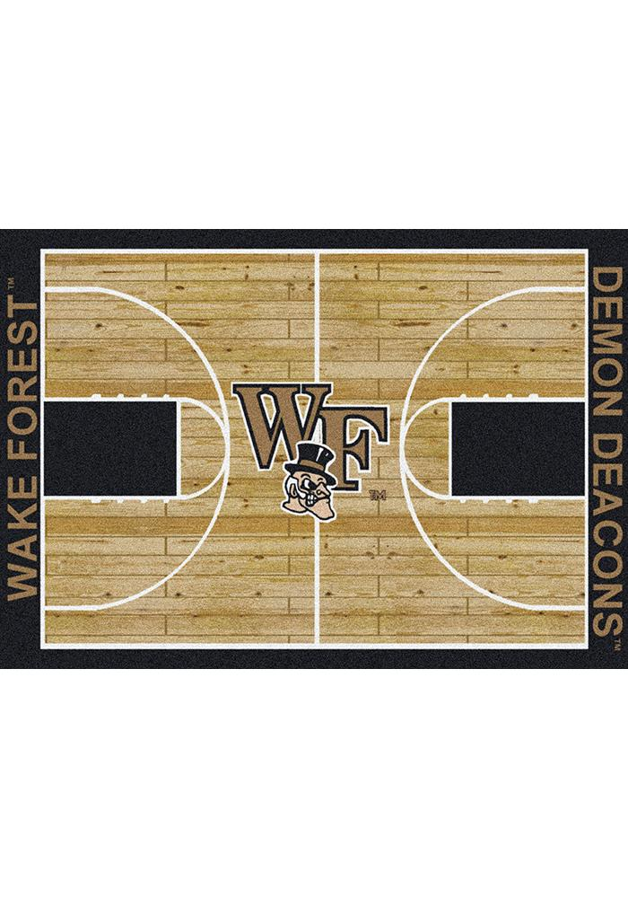Wake Forest Demon Deacons 10x13 Court Interior Rug - Image 1