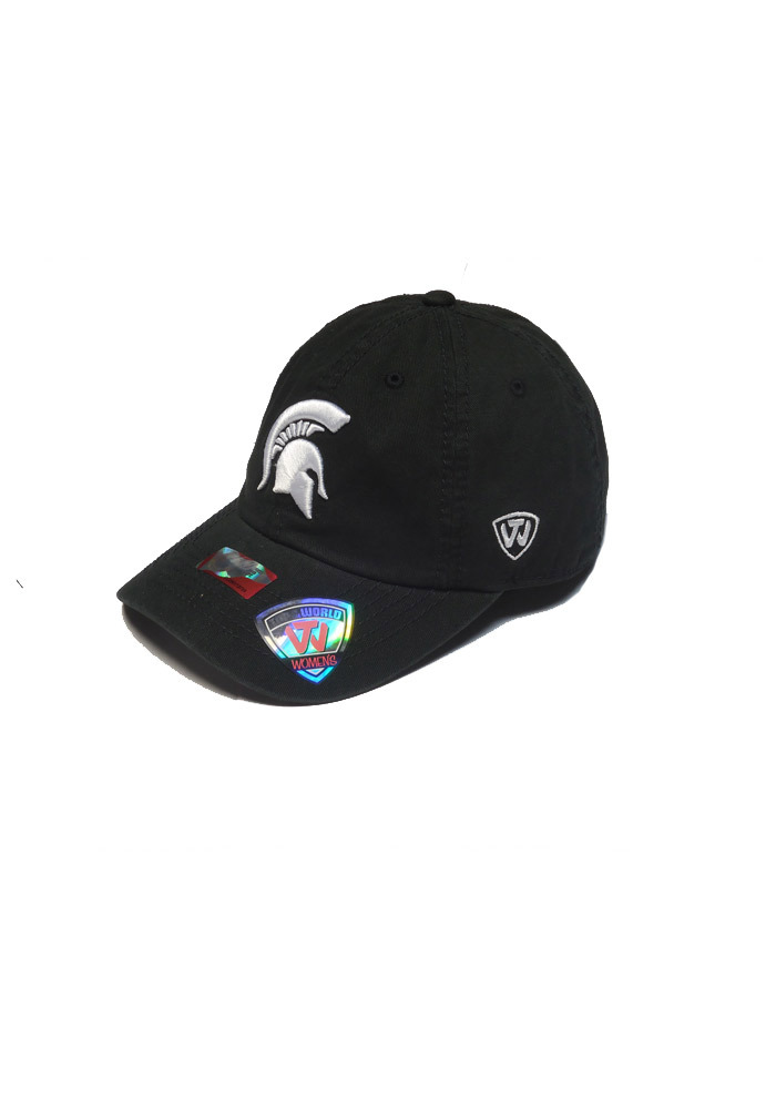 Top of the World Michigan State Spartans Black Neon Crew Womens Adjustable Hat - Image 1