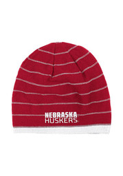 Adidas Nebraska Cornhuskers Black Travel Reversible Knit Hat