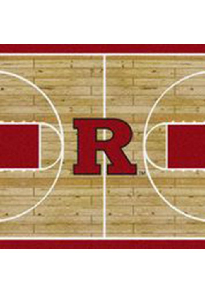 Rutgers Scarlet Knights 3x5 Court Interior Rug - Image 1
