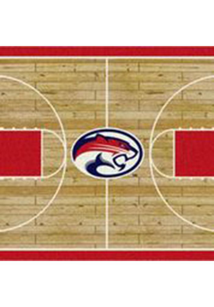 Houston Cougars 10x13 Court Interior Rug - Image 1
