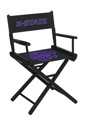 K-State Wildcats Table Height Director's Chair