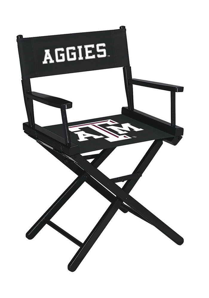 Texas A&M Aggies Table Height Director's Chair - Image 1