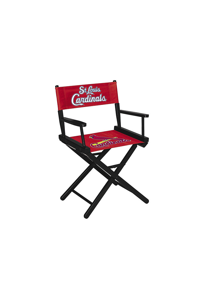 St Louis Cardinals Table Height Director's Chair - Image 1