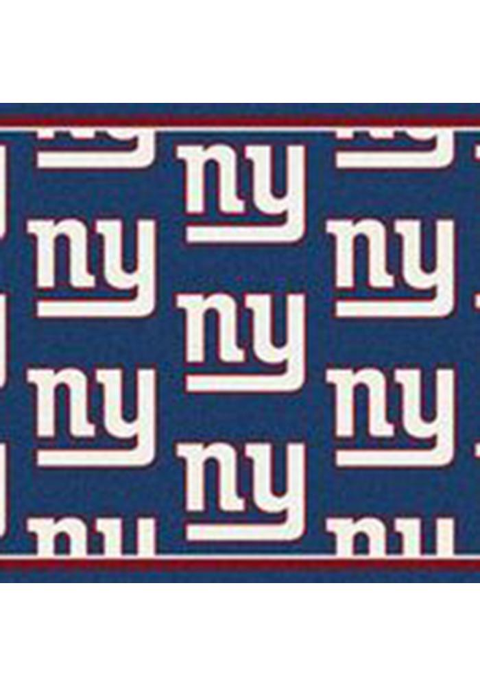 New York Giants 3x5 Repeat Interior Rug - Image 1
