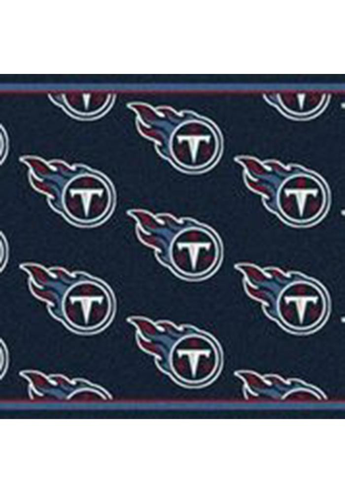 Tennessee Titans 7x10 Repeat Interior Rug - Image 1