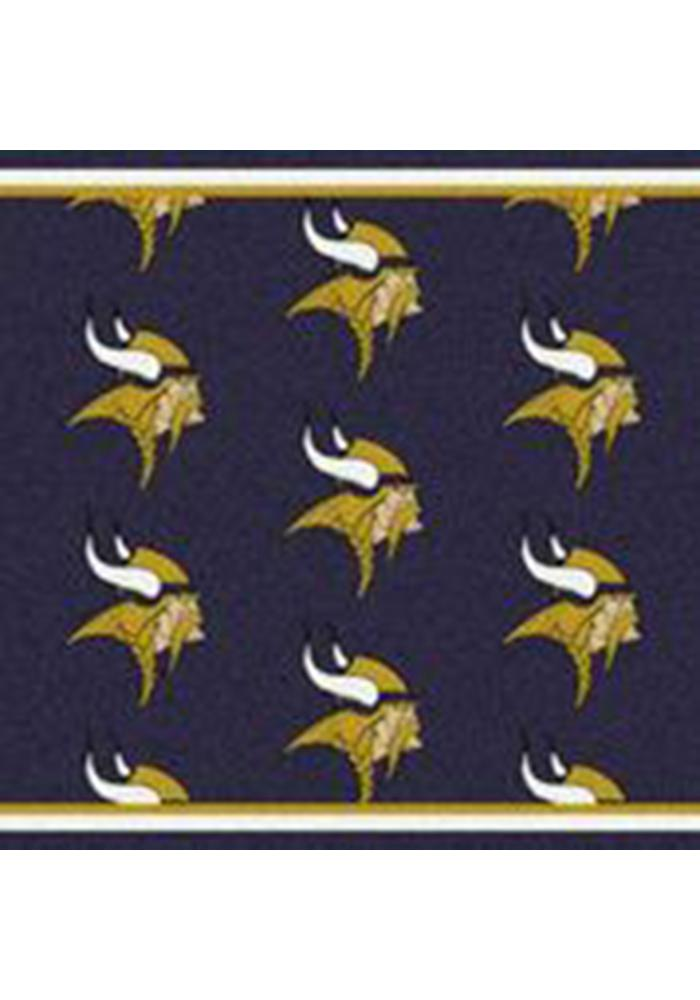 Minnesota Vikings 10x13 Repeat Interior Rug - Image 1