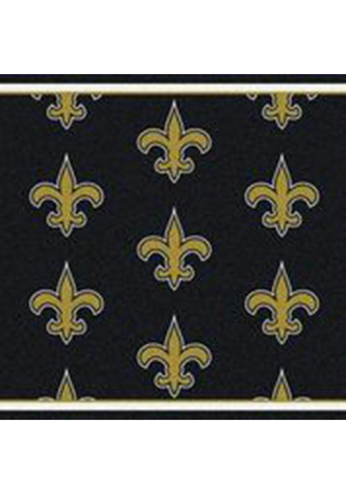 New Orleans Saints 10x13 Repeat Interior Rug - Image 1