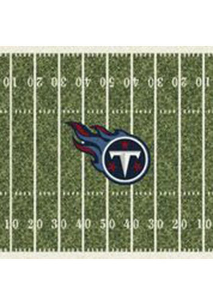 Tennessee Titans 10x13 Homefield Interior Rug - Image 1