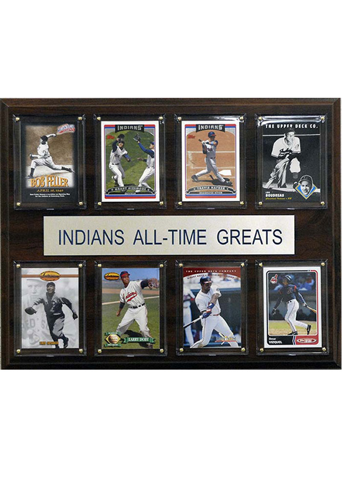 Cleveland Indians 12x15 All-Time Greats Player Plaque - Image 1