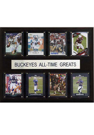 Ohio State Buckeyes 12x15 All-Time Greats Player Plaque