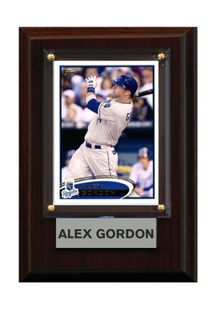 Kansas City Royals 4x6in Alex Gordon Player Plaque