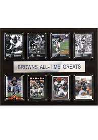 Cleveland Browns 12x15 All-Time Greats Player Plaque