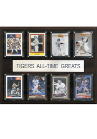 Detroit Tigers 12x15 All-Time Greats Player Plaque