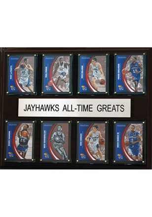 Kansas Jayhawks 12x15 All-Time Greats Player Uniform Plaque