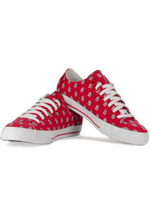 St Louis Cardinals Red All Over Logo Mens Shoes