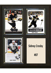 Sidney Crosby Pittsburgh Penguins 3 Card Plaque