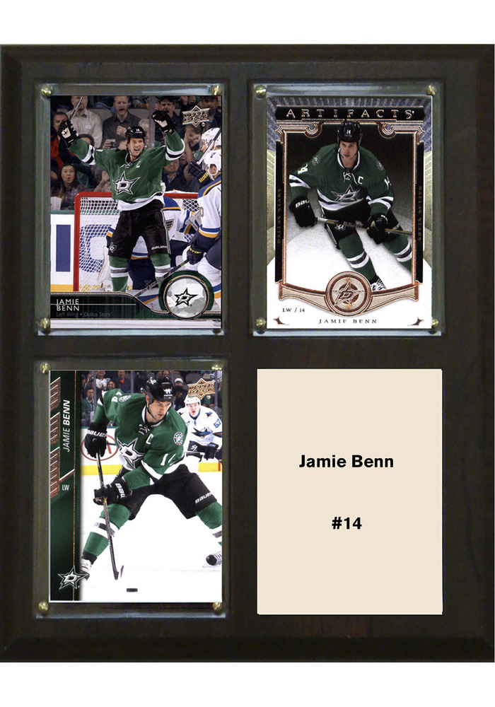 Jamie Benn Dallas Stars 3 Card Plaque - Image 1