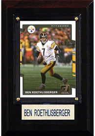 Ben Roethlisberger Pittsburgh Steelers 4x6 Player Plaque