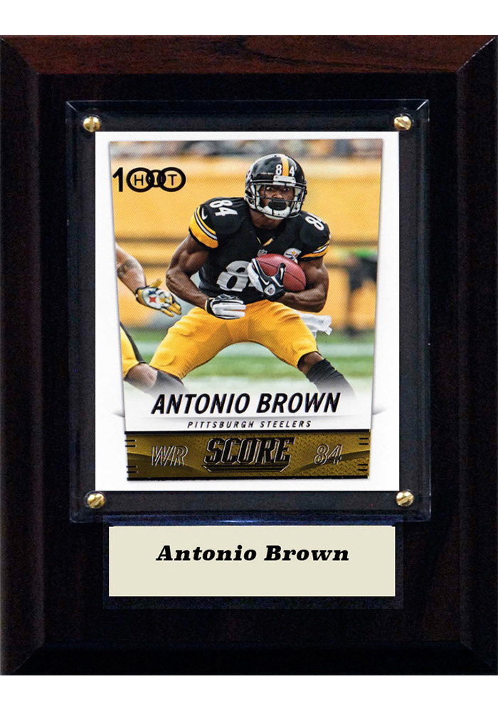 Pittsburgh Steelers 4x6 Player Plaque - Image 1