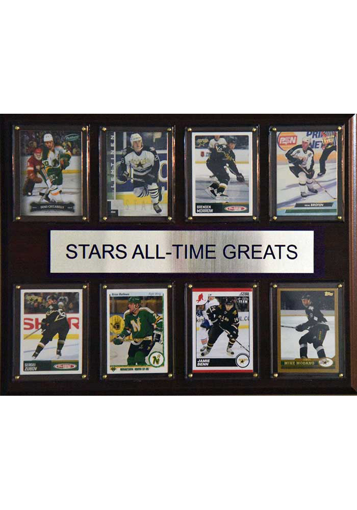 Dallas Stars 12x15 All-Time Greats Player Plaque - Image 1