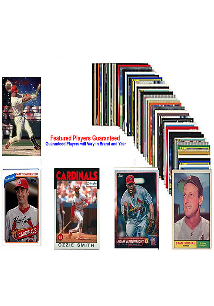 St Louis Cardinals 50 Pack Collectible Baseball Cards - Image 1