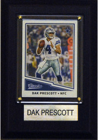 Dak Prescott Dallas Cowboys 4x6 inch Player Plaque