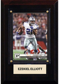 Ezekiel Elliott Dallas Cowboys 4x6 inch Player Plaque
