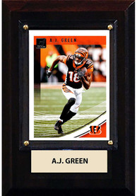 AJ Green Cincinnati Bengals 4x6 inch Player Plaque