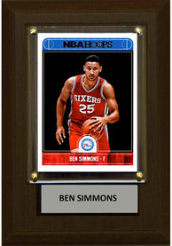 Ben Simmons Philadelphia 76ers 4x6 Player Plaque