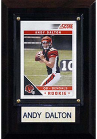 Andy Dalton Cincinnati Bengals 4x6 inch Player Plaque