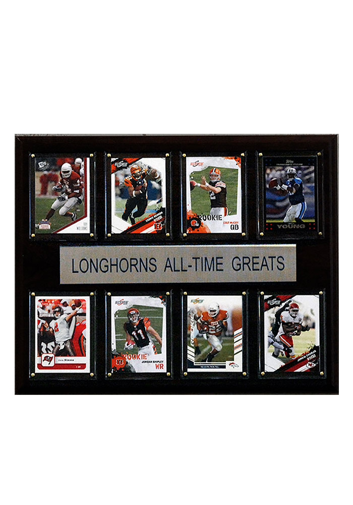 Texas Longhorns 12x15 All-Time Greats Player Plaque - Image 1