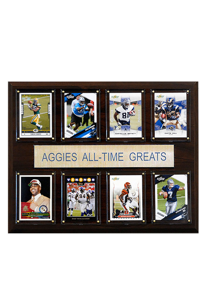 Texas A&M Aggies 12x15 All-Time Greats Player Plaque - Image 1