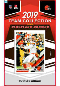 Cleveland Browns 2019 Team Set Collectible Football Cards
