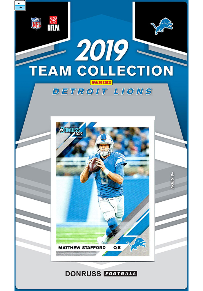 Detroit Lions 2019 Team Set Collectible Football Cards - Image 1