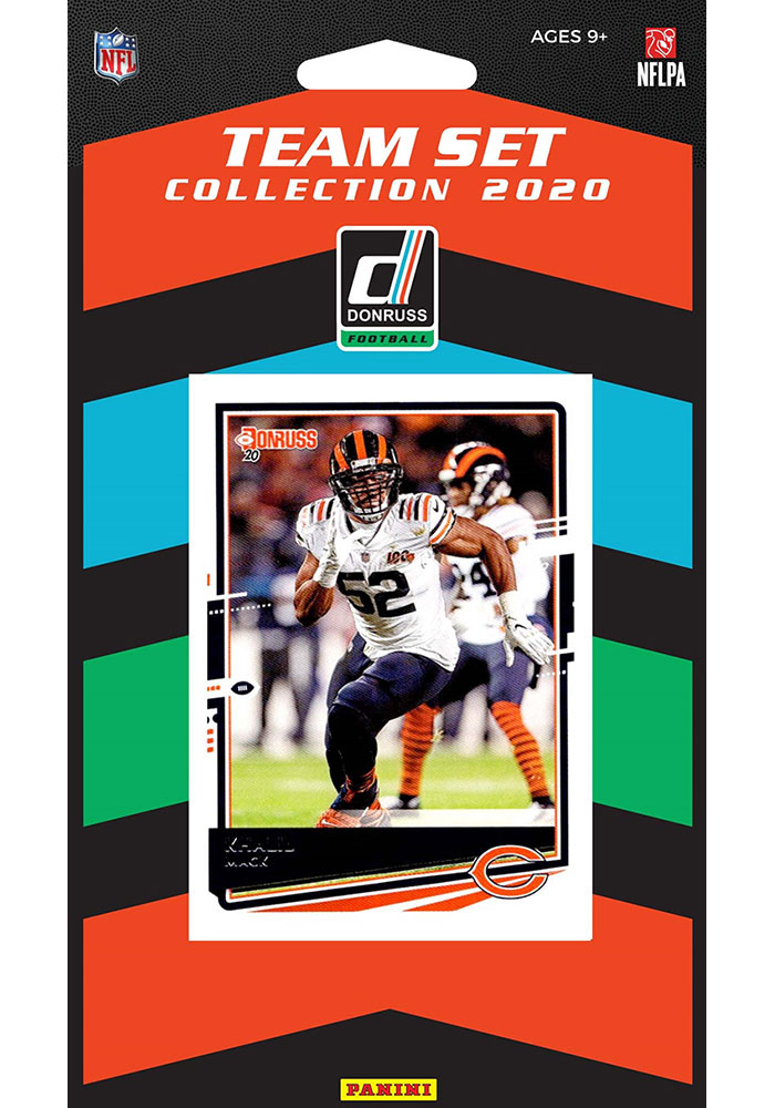 Chicago Bears 2020 Team Pack Collectible Football Cards - Image 1