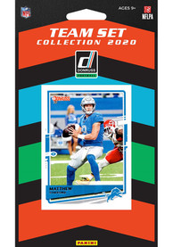 Detroit Lions 2020 Team Pack Collectible Football Cards