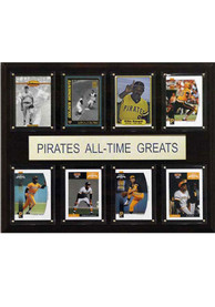 Pittsburgh Pirates 12x15 All-Time Greats Player Plaque