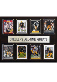 Pittsburgh Steelers 12x15 All-Time Greats Player Plaque