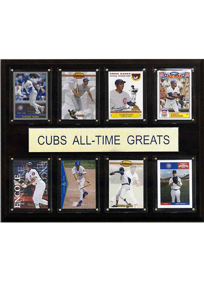 Chicago Cubs 12x15 All-Time Greats Player Plaque - Image 1