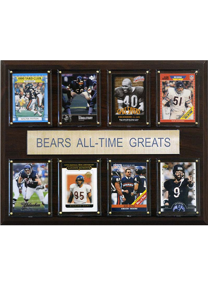 Chicago Bears 12x15 All Time Greats Player Plaque