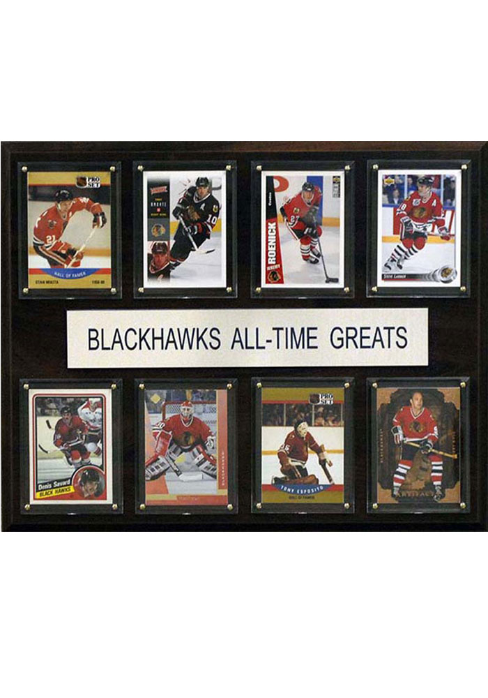 Chicago Blackhawks 12x15 All-Time Greats Player Plaque - Image 1